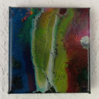 Picture Acrylc Fluid Painting